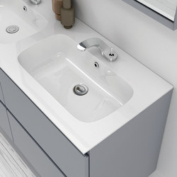 M2 MineralMarmo® Washbasin Countertop | Wash basins | Inbani