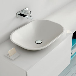 Ou Encased Countertop Solidsurface® Washbasin | Lavabos | Inbani