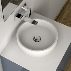 LA431 Countertop Solidsurface® Washbasin | Lavabos | Inbani