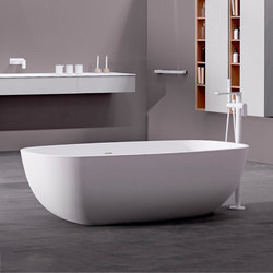 Temple Freestanding Solidsurface® Bathtub | Bathtubs | Inbani