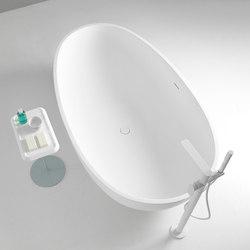 Gout Freestanding Solidsurface® Bathtub | Baignoires ilôts | Inbani