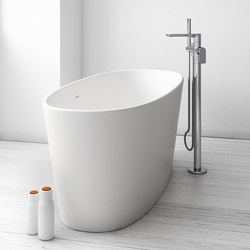 Thinthing Freestanding Solidsurface® Bathtub | Baignoires ilôts | Inbani