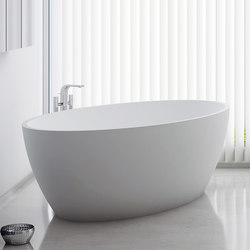 Ou Freestanding Solidsurface® Bathtub | Free-standing baths | Inbani