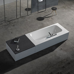 Ka Solidsurface® Bathtub | Vasche ad isola | Inbani