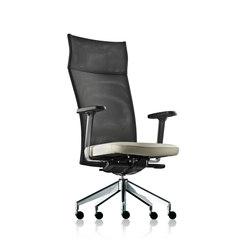 pharao net swivel chair high | Management chairs | fröscher