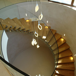 Helical Stairs Wood TWE-623 | Staircase systems | EeStairs