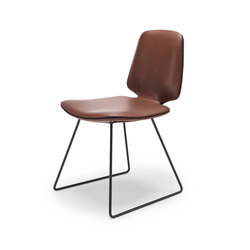 Tilda | Chair with skid frame | Sillas | Freifrau Sitzmöbelmanufaktur