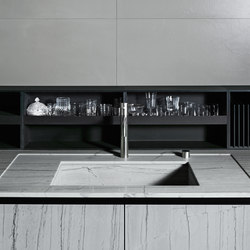 Upper Units | Fitted kitchens | Boffi