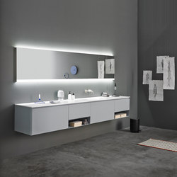 Strato Collection - Set 19 | Meubles sous-lavabo | Inbani