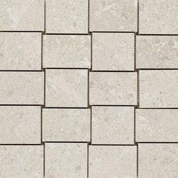 Mystone Gris Fleury mosaico bianco | Ceramic mosaics | Marazzi Group