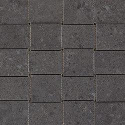 Mystone Gris Fleury mosaico nero | Mosaike | Marazzi Group