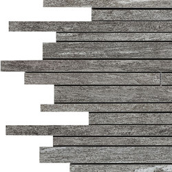 Mystone Pietra Di Vals mosaico antracite | Mosaici | Marazzi Group