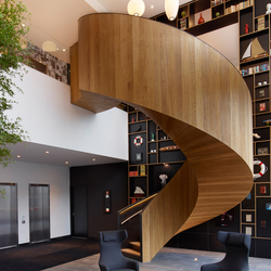 Helical Stairs Wood TWE-611 | Staircase systems | EeStairs