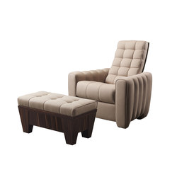 Gertrude reclining armchair | Lounge chairs | Promemoria