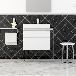 Structure Bathroom Furniture Set 6 | Meubles sous-lavabo | Inbani
