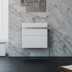 Structure Bathroom Furniture Set 7 | Meubles sous-lavabo | Inbani