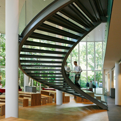 Helical Stairs Stone TWE-459 | Metal stairs | EeStairs