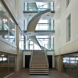 Helical Stairs Concrete TWE-547 | Metal stairs | EeStairs