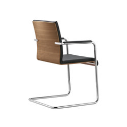 Plenar2 executive cantilever with armrests | Chairs | Dauphin