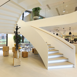 Helical Stairs Wood TWE-617 | Escaliers en bois | EeStairs