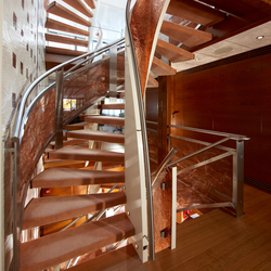 Helical Stairs Wood TWE 480 | Escaliers en bois | EeStairs