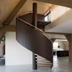 Spiral Stairs Steel TSE-204 | Metal stairs | EeStairs