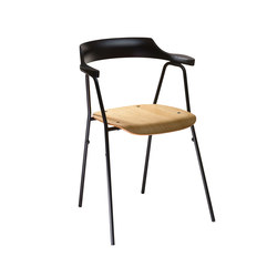 4455 Chair Natural | Visitors chairs / Side chairs | Rex Kralj