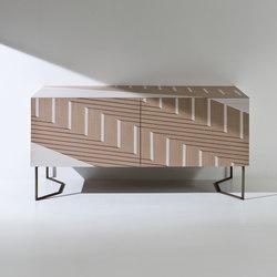 Intarsia | Twill | Buffets / Commodes | Laurameroni