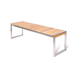 Allure Backless Bench | Bancos de jardín | Wintons Teak