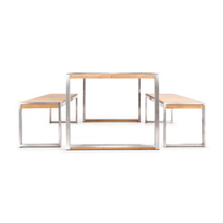 Allure Dining Set | Tables et bancs de jardin | Wintons Teak
