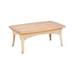 Aston Coffee Table Rectangular | Mesas de centro de jardín | Wintons Teak