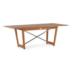 Danz Extending Table Single | Tavoli da pranzo da giardino | Wintons Teak