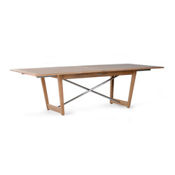 Danz Extending Table Double | Garten-Esstische | Wintons Teak