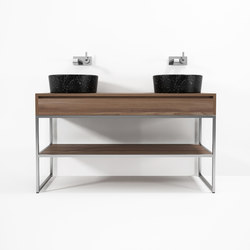 Duke STANDING DOUBLE BASIN | Vanity units | Karpenter
