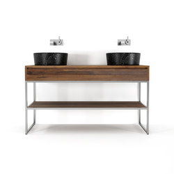 Duke STANDING DOUBLE BASIN | Meubles sous-lavabo | Karpenter
