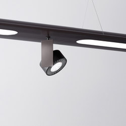 Level – Mur single Ø120 hanging system | Spotlights | Aqlus