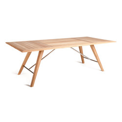 Kay Table | Tables à manger de jardin | Wintons Teak
