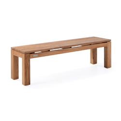 Pierson Backless Bench 2-Seater | Bancos de jardín | Wintons Teak