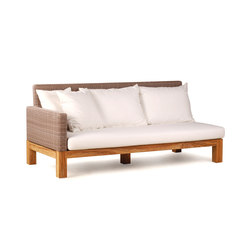 Pierson Loveseat Left | Sofas de jardin | Wintons Teak