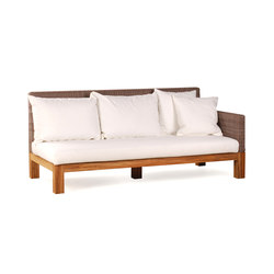 Pierson Loveseat Right | Sofas de jardin | Wintons Teak