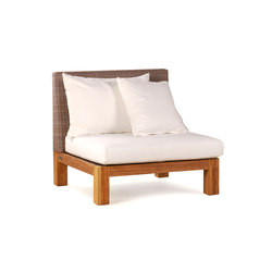 Pierson Middle Section | Garden armchairs | Wintons Teak