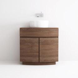 Miles STANDING BASIN 1 DRAWER 2 DOORS | Mobili lavabo | Karpenter