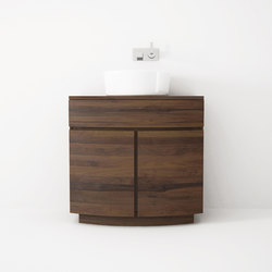 Miles STANDING BASIN 1 DRAWER 2 DOORS | Vanity units | Karpenter