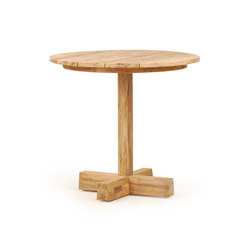 Pierson Pedestal Coffee Table High | Mesas auxiliares de jardín | Wintons Teak