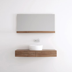 Miles HANGING BASIN 2 DRAWERS | Meubles sous-lavabo | Karpenter