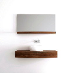 Miles HANGING BASIN 2 DRAWERS | Vanity units | Karpenter