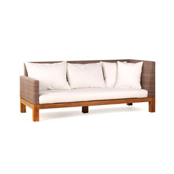 Pierson Sofa Right | Sofás de jardín | Wintons Teak