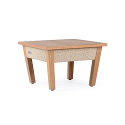 Planar Coffee Table Square | Tables basses de jardin | Wintons Teak