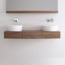 Miles HANGING BASIN 3 DRAWERS | Meubles sous-lavabo | Karpenter