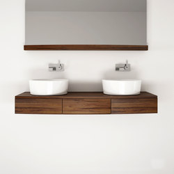 Miles HANGING BASIN 3 DRAWERS | Mobili lavabo | Karpenter